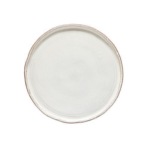 Cfl0564 dinner plate stone white