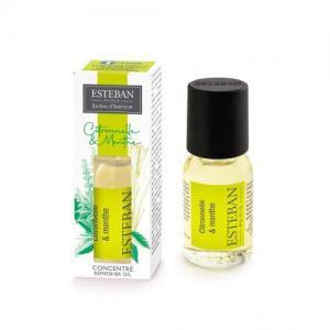 Concentre parfum citronnelle menthe